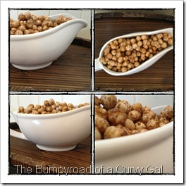 maple cinnamon chickpeas